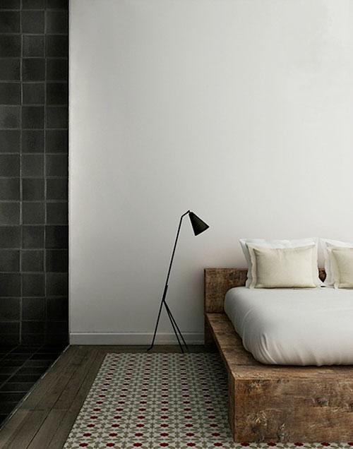 Slaapkamer inrichten met steigerhouten bedden