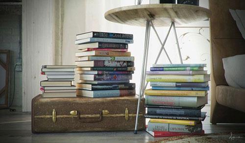 ... Inspiratie Oosters : Slaapkamer inspiratie: boeken als nachtkastje
