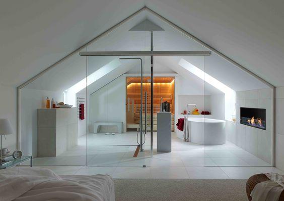 Slaapkamer inspiratie badkamer