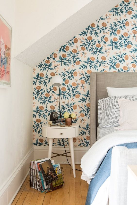 Slaapkamer Behang Idee : Slaapkamer behang idee spscents