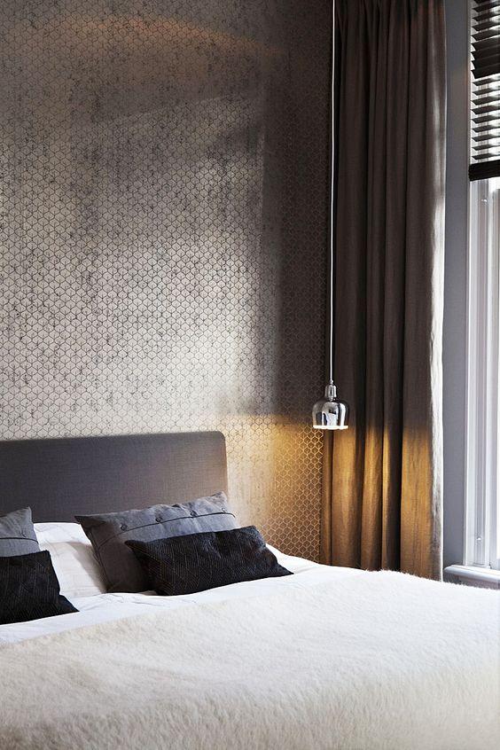 Slaapkamer inspiratie behang