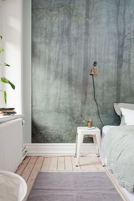 Slaapkamer inspiratie fotobehang