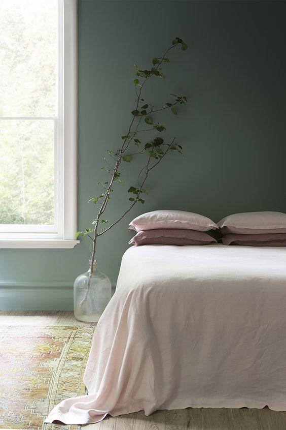 Slaapkamer inspiratie kleuren en materialen