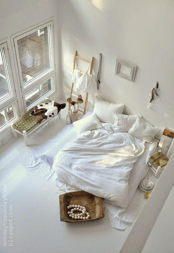Slaapkamer inspiratie ladder