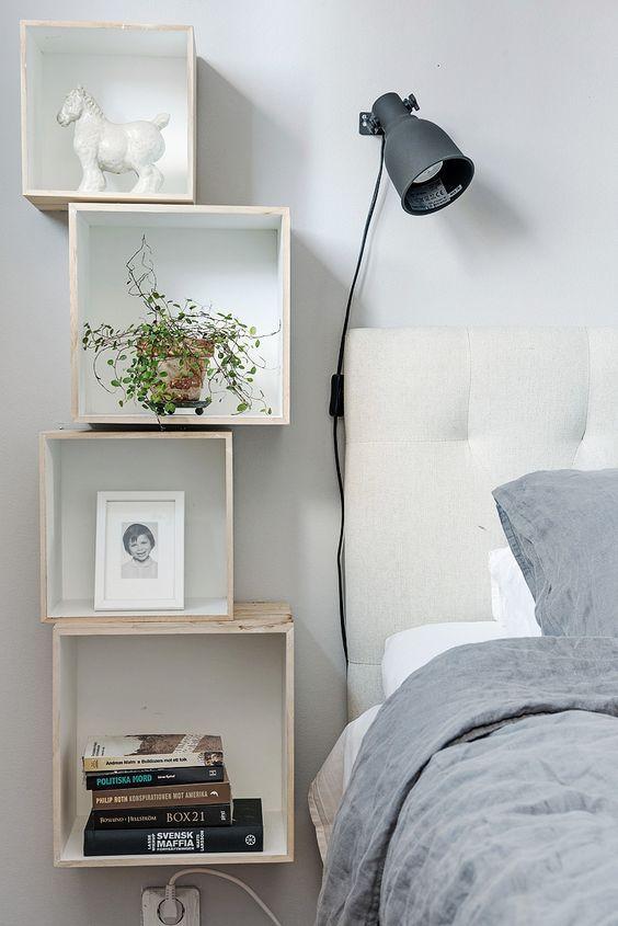 Slaapkamer inspiratie nachtkastje