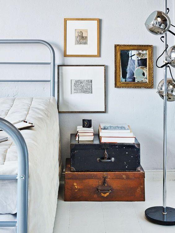 Nachtkastjes slaapkamer inspiratie interieur meubilair for Interieur inspiratie slaapkamer