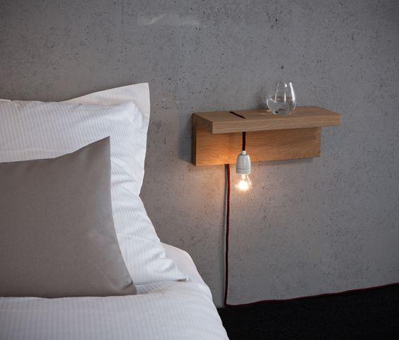 Slaapkamer inspiratie nachtlamp