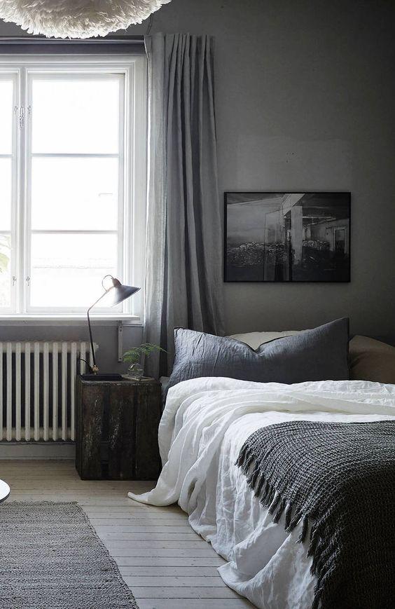 Slaapkamer inspiratie raamdecoratie