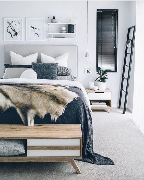 Slaapkamer inspiratie tapijt