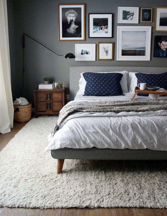Slaapkamer inspiratie vloerkleed