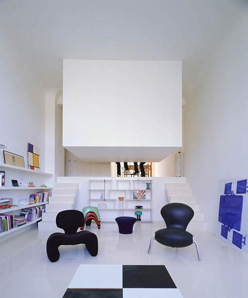 Slaapkamer in kubus interieur inrichting - Kubus interieurs ...