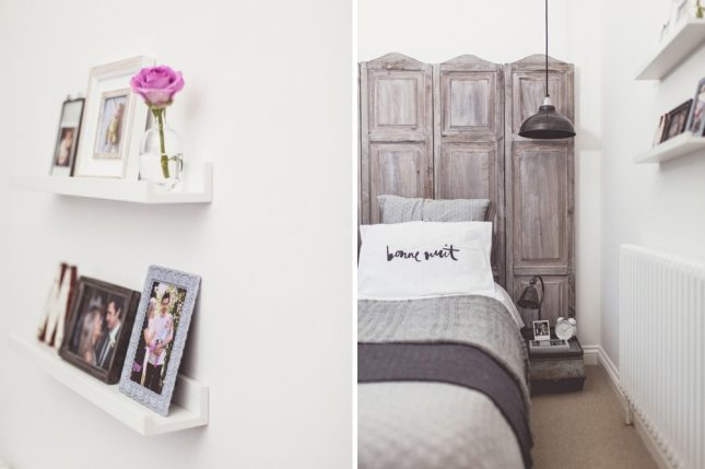 Slaapkamer makeover van Charlotte en James