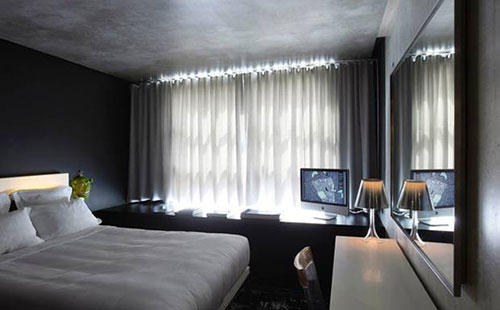 Luxe slaapkamer tips : De hotelkamers van MAMA shelter hotel in Parijs ...