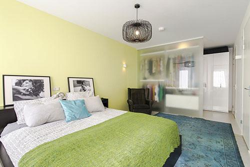 slaapkamer met inloopkastinterieur inrichting interieur inrichting