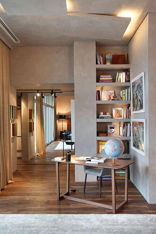 Slaapkamer met mooie unieke meubels  Interieur inrichting