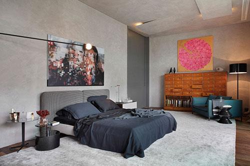 Design Ladekast Slaapkamer : Slaapkamer met mooie unieke meubels ...