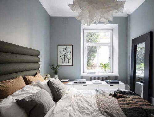 slaapkamer muurkleur inspiratie