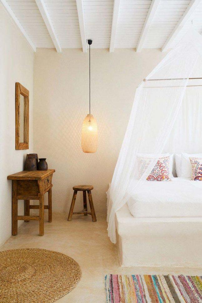 slaapkamer muurkleur inspiratie beige