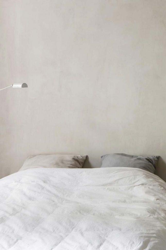 slaapkamer muurkleur inspiratie greige