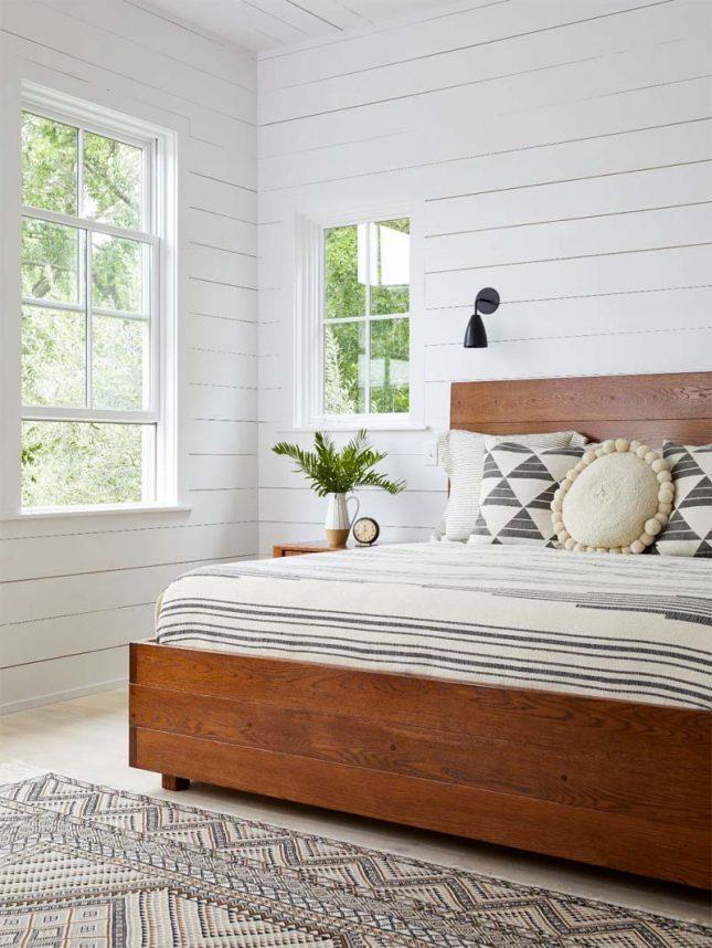 slaapkamer muurkleur inspiratie wit