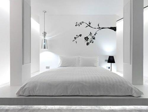 Slaapkamer muurstickers  Interieur inrichting