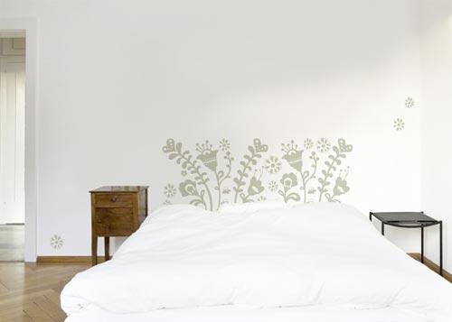 slaapkamer muurstickers  interieur inrichting, Meubels Ideeën