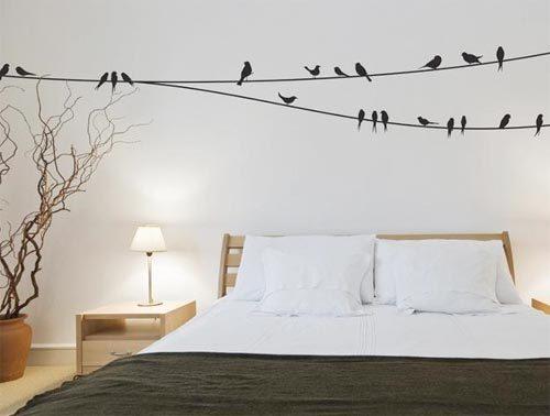 Slaapkamer muurstickers