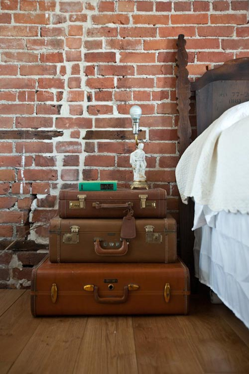 Slaapkamer nachtkastjes  Interieur inrichting