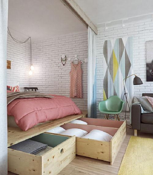imgbd  gordijnen kleine slaapkamer  de laatste slaapkamer, Meubels Ideeën