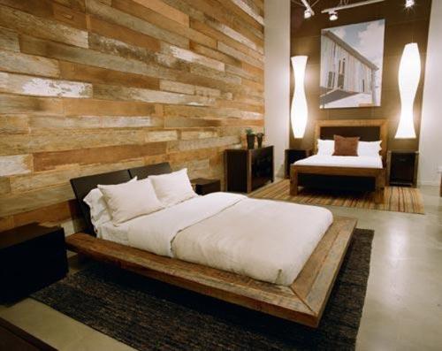 houten slaapkamer muur  consenza for ., Meubels Ideeën
