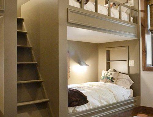 Slaapkamer ontwerpen met stapelbed
