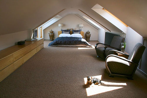 Zolder Slaapkamer Inrichten : Slaapkamer ontwerpen op zolder interieur inrichting