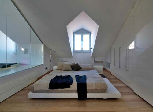 slaapkamer ontwerpen op zolder | interieur inrichting, Deco ideeën