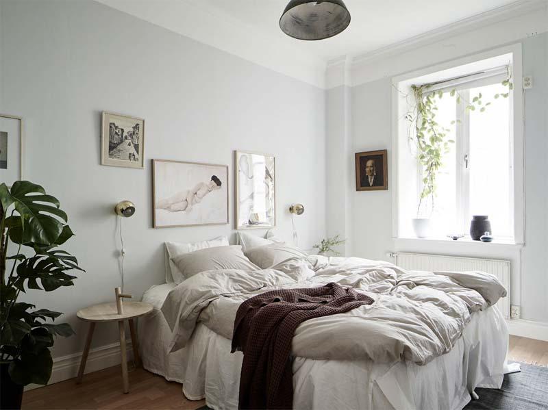 slaapkamer planten