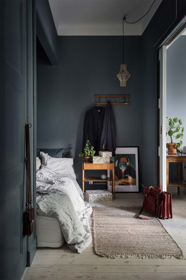 slaapkamer styling nachtkastje