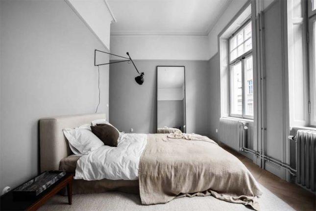 slaapkamer styling vloerkleed