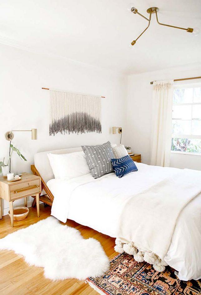 slaapkamer styling wandkleed