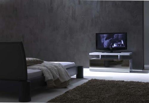 Tv Op Slaapkamer Ideeen : Slaapkamer tv ideeën Interieur inrichting