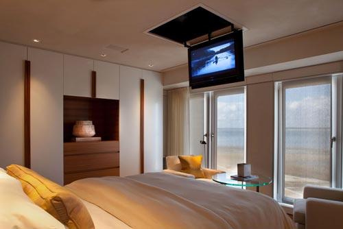 slaapkamer tv ideen