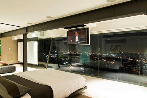 Slaapkamer tv ideeën  Interieur inrichting