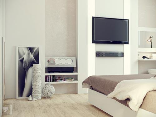 slaapkamer tv ideeà n interieur inrichting