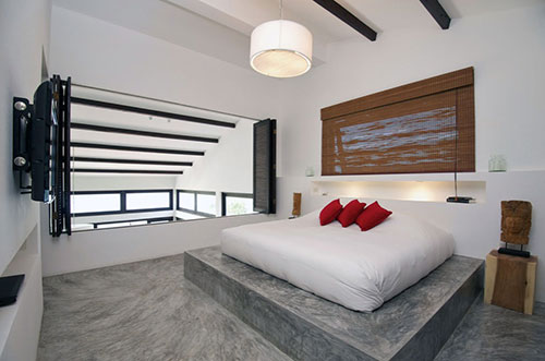 Slaapkamer vloer idee n interieur inrichting - Slaapkamer idee ...