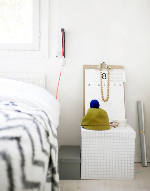 Slaapkamer van weekday carnival interieur inrichting - Slaapkamer slaapkamer decoratie ...
