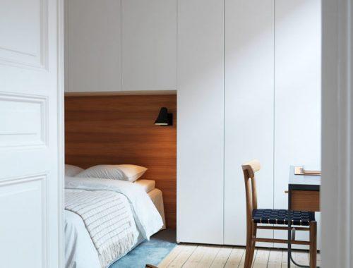 De slaapkamer van Zweeds ontwerpduo Johan & Johanna