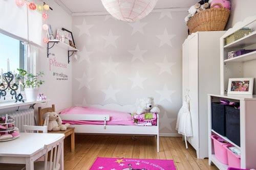 Slinger ophangen in de kinderkamer interieur inrichting