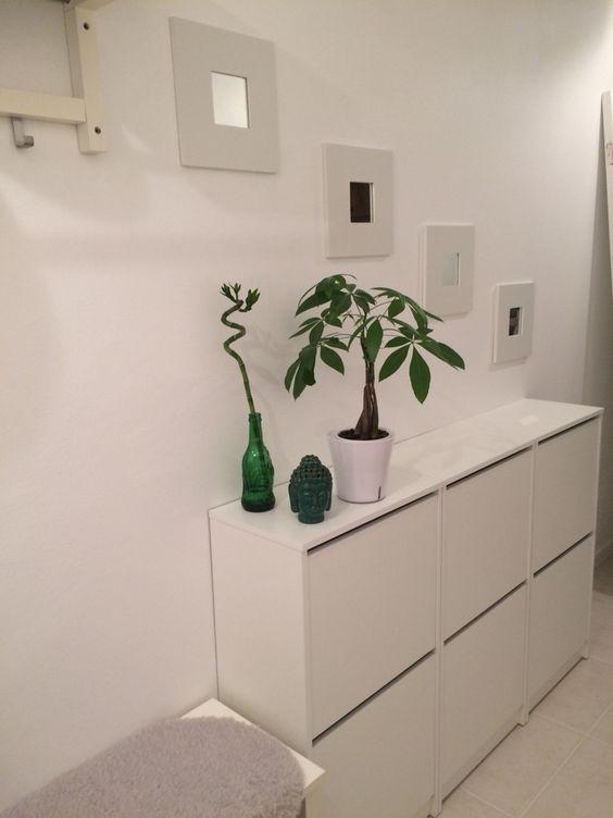 Smalle IKEA Bissa schoenenkast