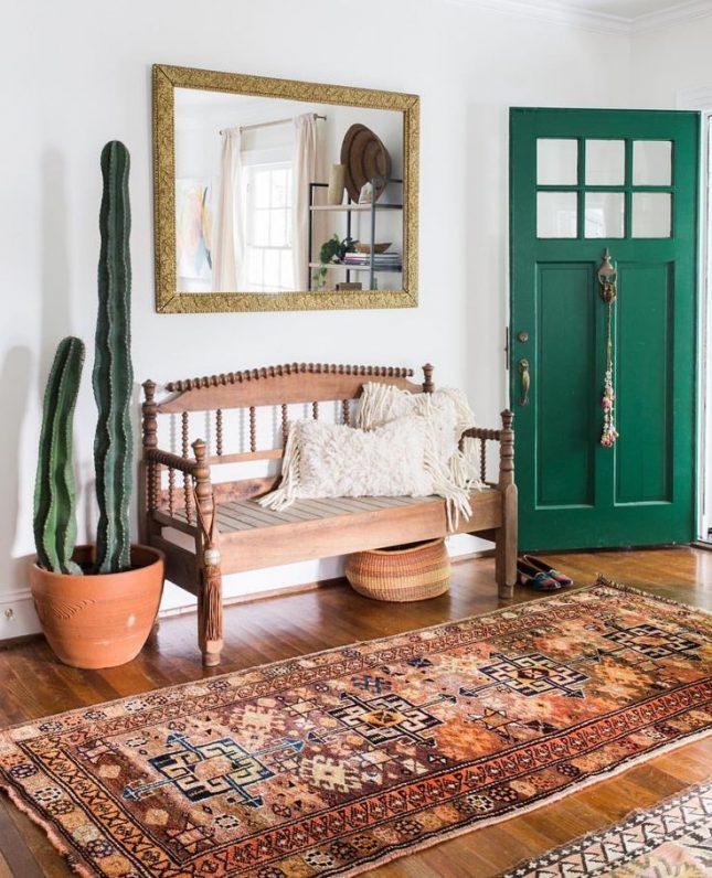 smaragdgroene deur