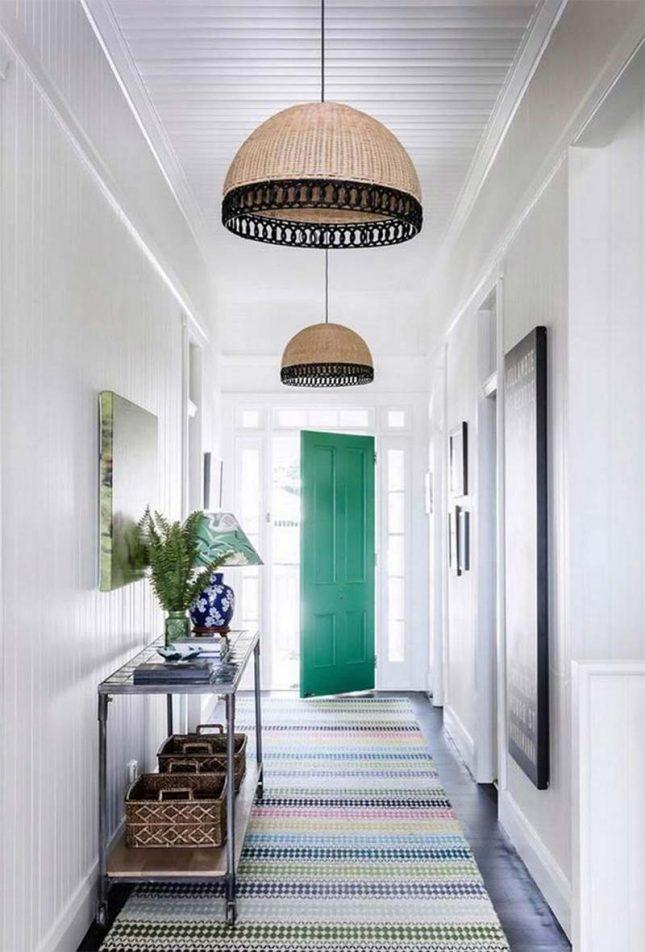 smaragdgroene voordeur