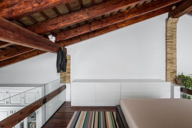 Spaanse loft woning in Valencia