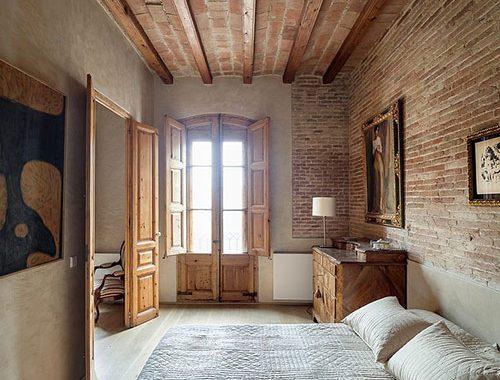 Spaanse slaapkamer uit Barcelona